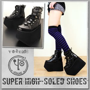 Fabulous platform shoes & boots from Yosuke USA (in Japan ...