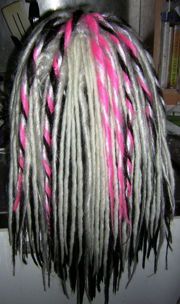 how to make wool dread falls instructions