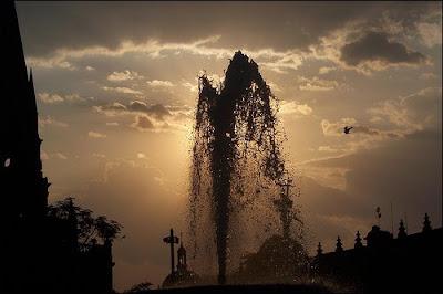 Agua a contra luz..., Christian Fausto