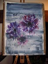 Anemones, fading