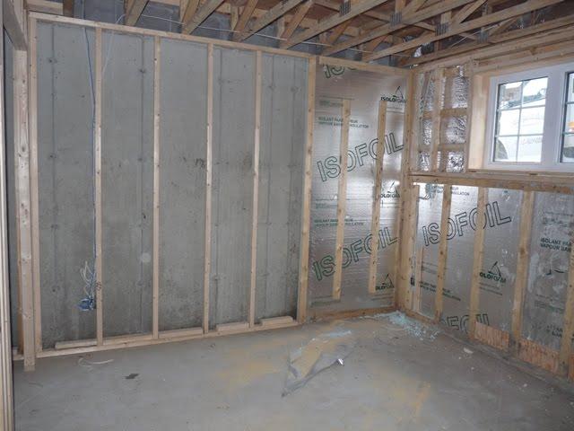 Notre maison mars 2010 for Salle de bain au sous sol