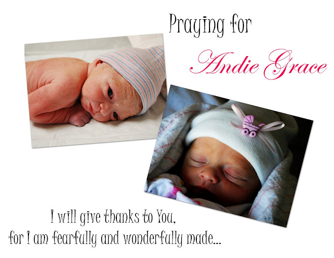 Praying for Andie Grace