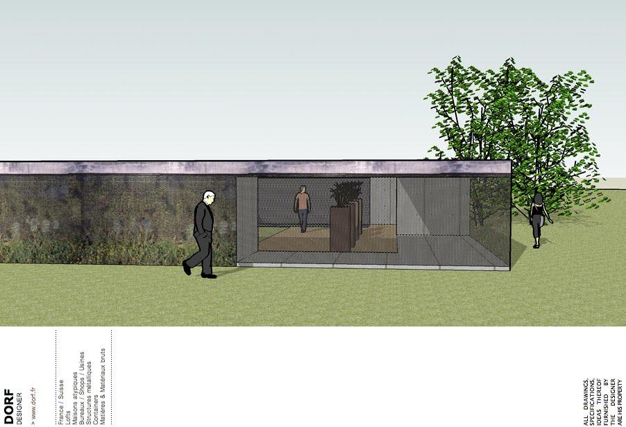 Dorf fr designer d56 hacienda moderne for Maison cubique minimaliste