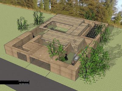 Dorf fr designer d43 maison container pise adobes for Maison container ou bois