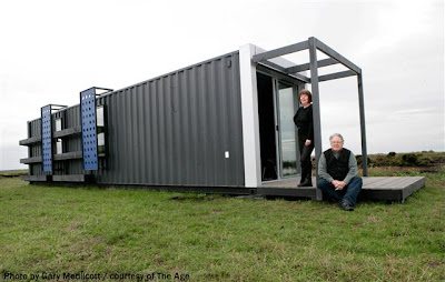 Fulton salomon architects for Smart house container