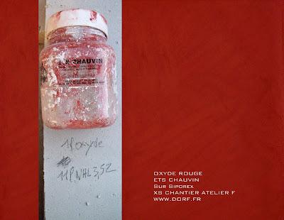 Atelier f by dorf badigeon chaux sur siporex avec oxyde rouge - Badigeon de lait de chaux ...
