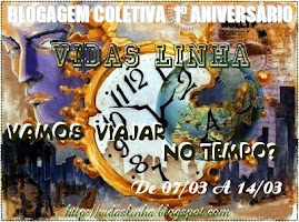 1 ANO DE VIDAS LINHA - BLOGAGEM DE ANIVERSÁRIO