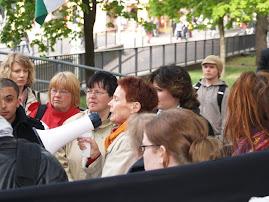 Oikeutta Palestiinaan -miekkari 15.5.2008