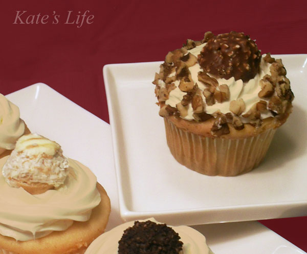 ... ~: Tuesdays Treats ~ Truffle Topped Cupcakes With Caramel Frosting