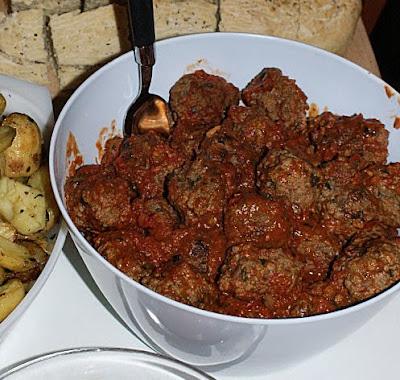 Kjøttboller i tomatsaus tapas
