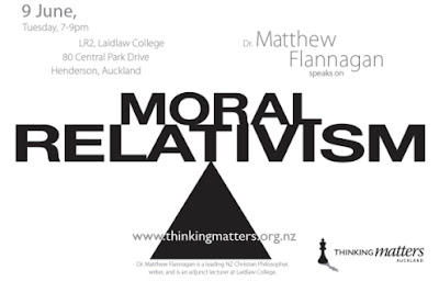 relativism and morality discussion of the Cultural relativism, long a key concept in anthropology, asserts that since each culture has its own values and practices, anthropologists should not make value judgments about cultural differences as a result, anthropological pedagogy has stressed that the study of customs and norms should be value-free, and that the appropriate role of the .