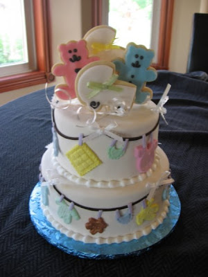 Baby Shower Hairstyles Styles http://styles-eventplannerandgifts.blogspot.com/2009/05/baby-shower-cakes.html