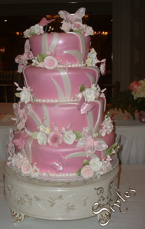 Cake Pictures For Quinceaneras : Cakes by Styles: Marvellous Quinceanera Cake!