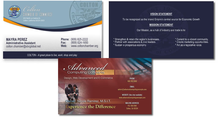 glossy business cards: glossy business card