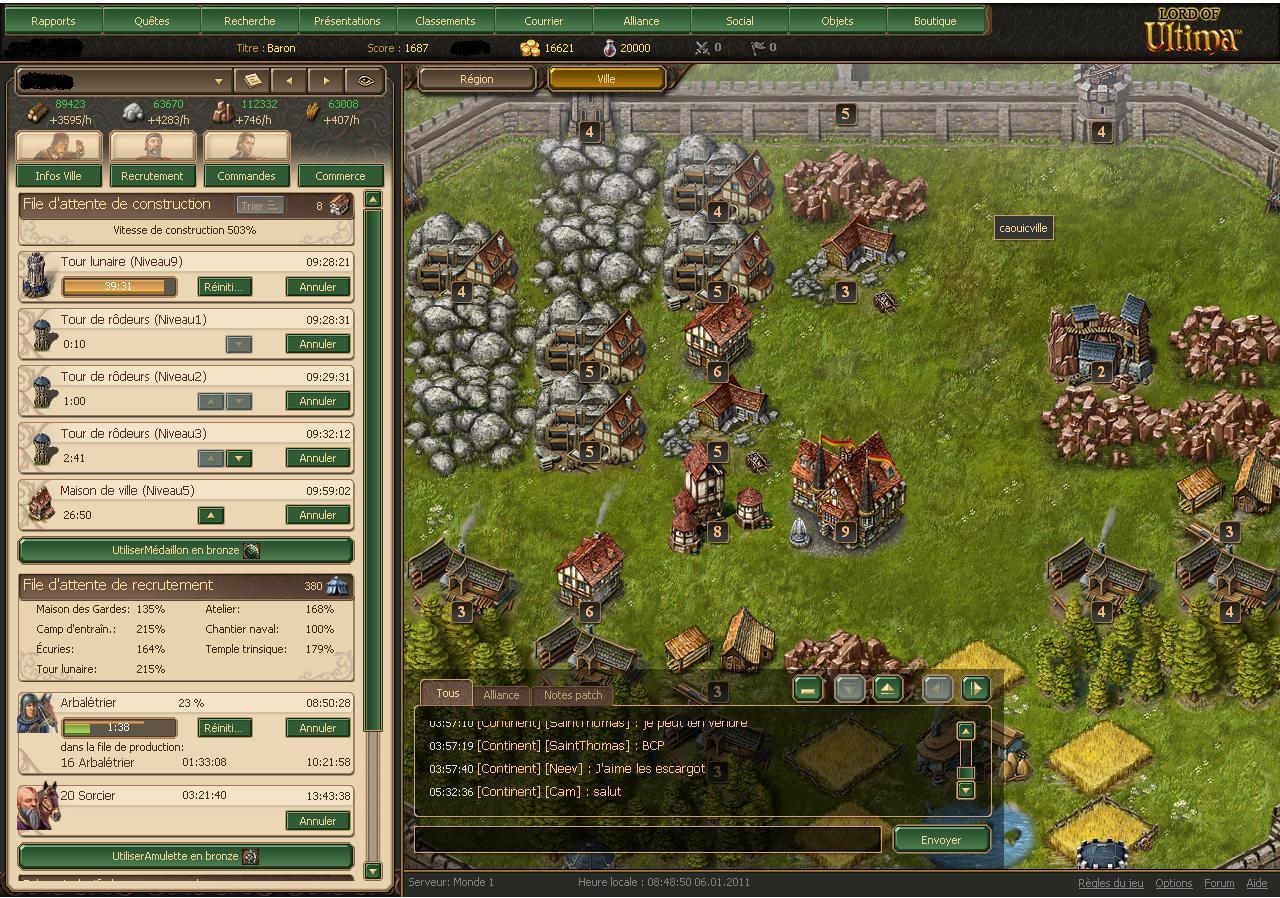 Lord of ultima jeu de gestion et de strat gie en ligne for Planificateur en ligne gratuit