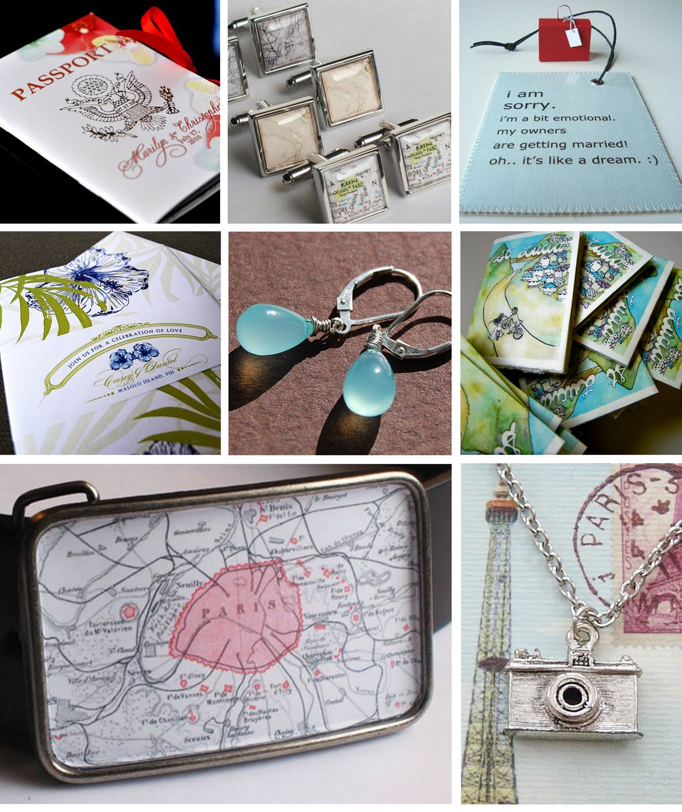 items for a destination wedding. Gifts for your bridal party ...