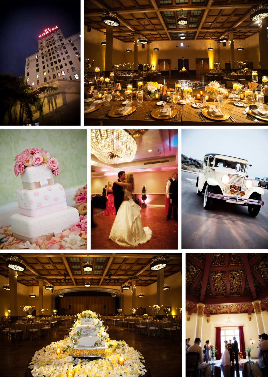 The Artful Bride Wedding Blog Planning A Vintage Hollywood