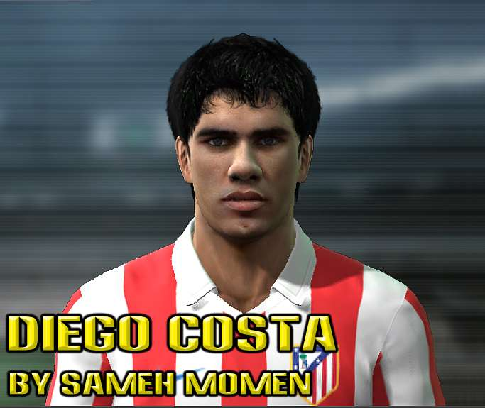 Diego Costa face by Sameh Momen