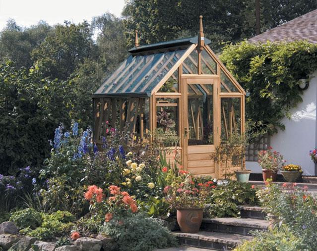 oak dappled gardening greenhouses