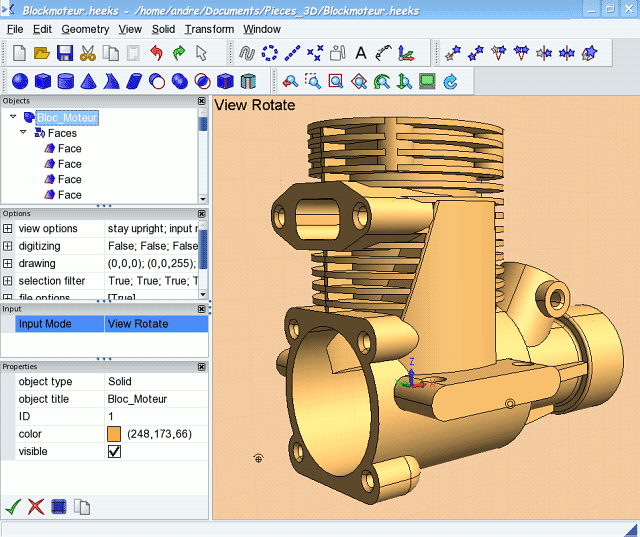 Free open source parametric 3d cad on linux Opensource cad dwg