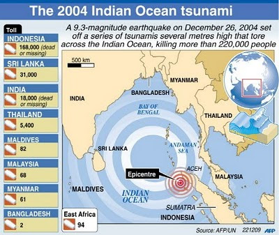 2004+indian+ocean+tsunami+map