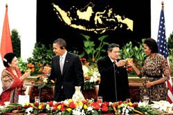 Obama, first lady to visit Indonesia