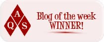 Blog of the Week Winner!