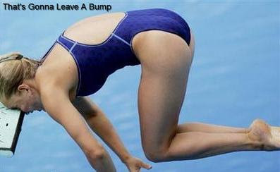 Funny Diving Board