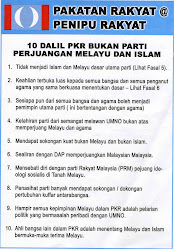 DALIL DALIL PAKATAN RAKYAT