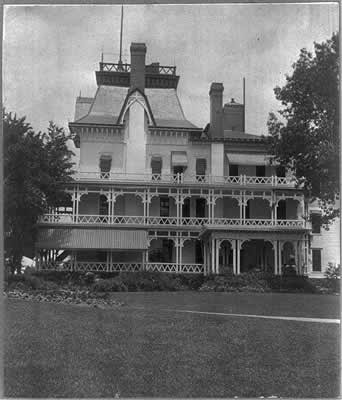 John D Rockefeller Sr. summer home in Forest Hill Ohio. He spent half the year here and on millionaires row near downtown Cleveland.