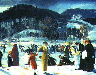 George Bellows Love of Winter Art Institute of Chicago