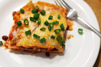 Love At First Bite: Tex-Mex Lasagna