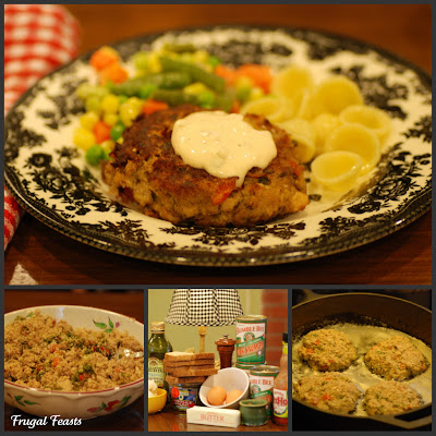 Pin Frugal Feasts Cheap And Easy Dinner Ideas Salmon Cakes Cake On Pinterest