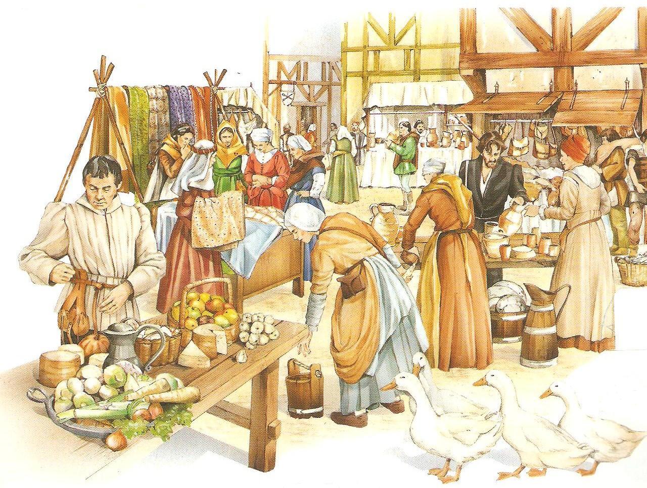 #1 - A feira  Feira_medieval