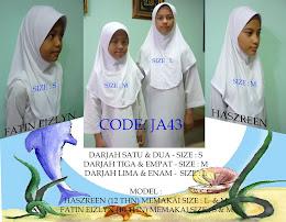 Code: JA43 (putih)  Size S, M, L