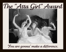 Atta Girl Award 04 Sept 09