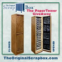 Win a paper tower from The Original Scrapbox!