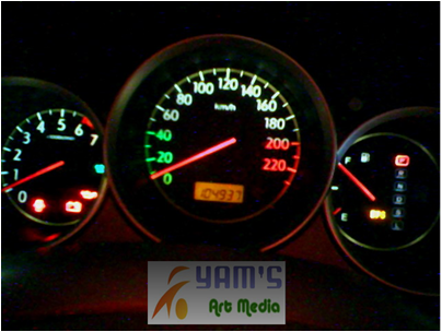 Speedometer Honda City