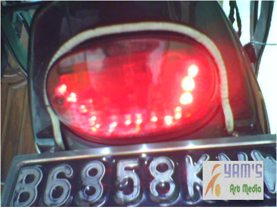 Running LED Brake Lamp