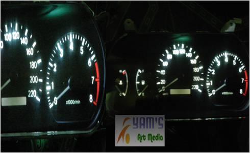 Led Speedo Toyota Camry