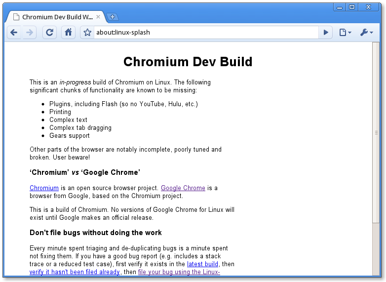 [Screenshot-Chromium+Dev+Build+Warning+-+Chromium.png]