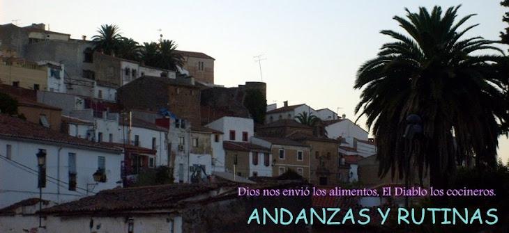 ANDANZAS Y RUTINAS