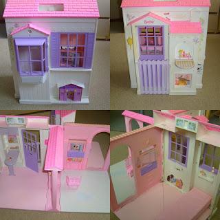 le destockage de carinette maison barbie pliable 8. Black Bedroom Furniture Sets. Home Design Ideas