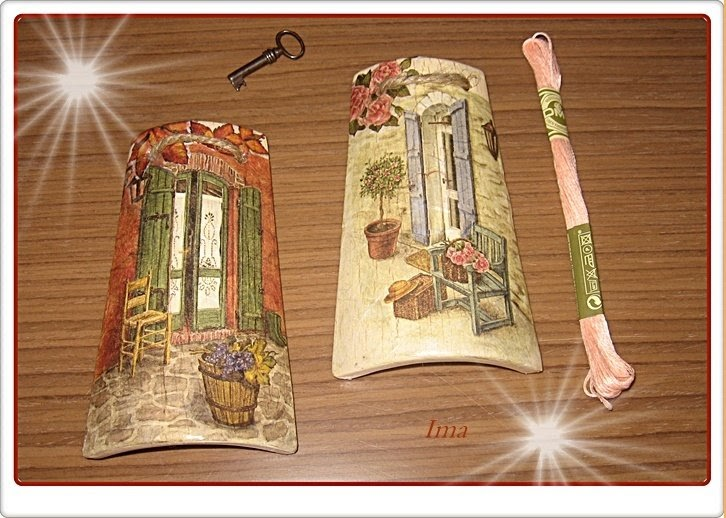 Mis peque as cositas peque as tejas decoradas - Tejas pequenas decoradas ...