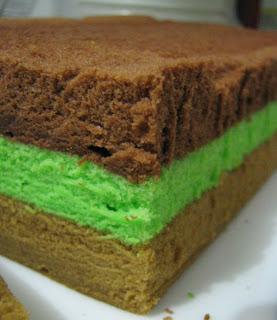 Penjual kue membuatnya joke sangat gampang ada dua jenis brownies