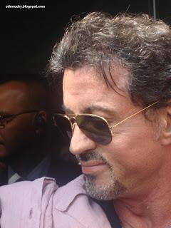 Stallone no Brasil