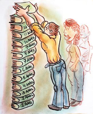 Ilustração em pastel seco