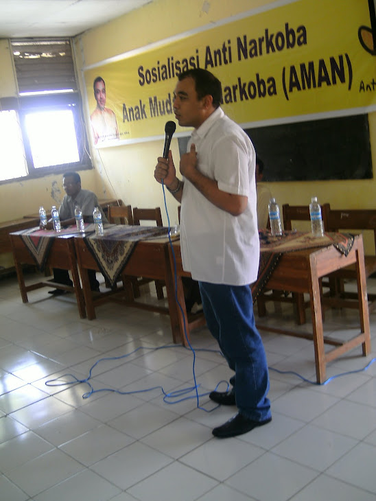 Road Show Zaki Iskandar Bersama Anak Muda Anti Narkoba di SMA Paradigma dan SMKN Mauk