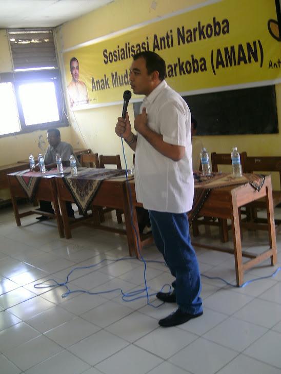 Road Show Zaki Iskandar Bersama Anak Muda Anti Narkoba di SMA Paradigma dan SMKN Mauk