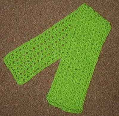 crochet scarf pattern easy on Etsy, a global handmade and